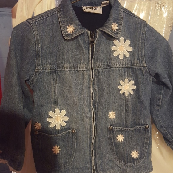 7a67bf3c9d8 Byer Girl Jackets & Coats   Super Cute Little Girls Jean Jacket ...